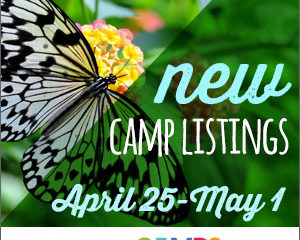 New Camp Listings (April 25 – May 1)