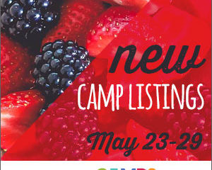 New Camp Listings (May 23-29)