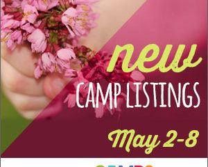 New Camp Listings (May 2-8)