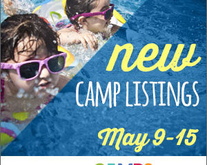 New Camp Listings (May 9-15)