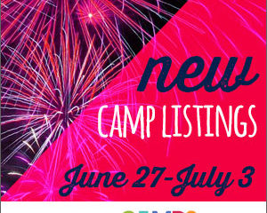 New Camp Listings (June 27-July 3)