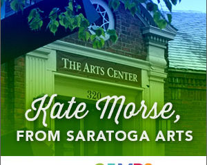 Meet a Camp Director » Kate Morse from Saratoga Arts!