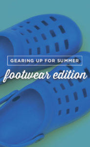 Getting ready for summer? Here's my list for all things shoes.