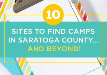 10 Sites to Find Camps in Saratoga County… and Beyond!